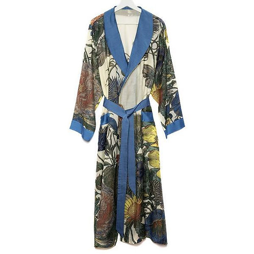 Kew Gardens Thistle Dressing Gown