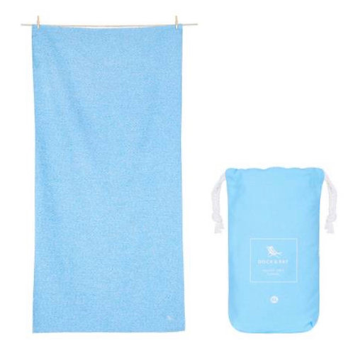 DOCK & BAY Active XL Towel, Lagoon Blue