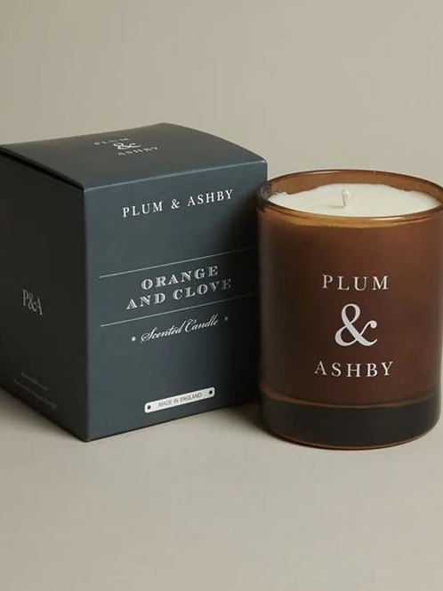 Orange And Clove Candle