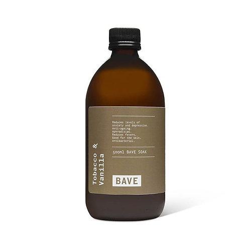 BAVE Tobacco & Vanilla Soak