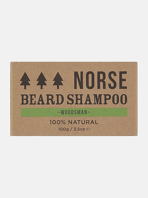 NORSE BEARD SHAMPOO BAR WOODSMAN