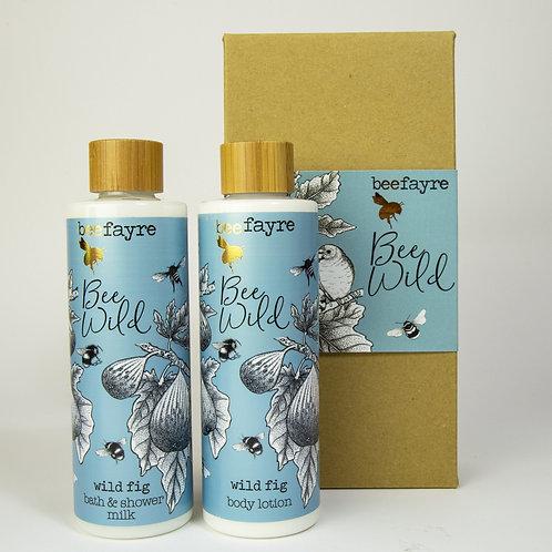 Bee Wild Fig Body & Bath Gift Set
