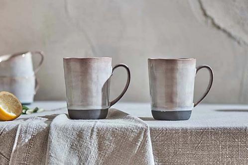 Edo Large Mug - Slate (Set of 2)