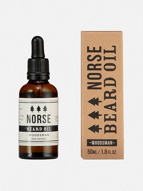NORSE WOODSMAN BEARD OIL 50ML