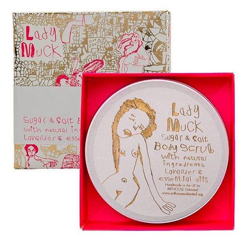 Lady Muck Design Body Scrub with Lavender & Bergamot