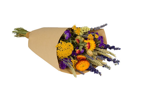 Wildflower Field Bouquet, Medium, Orange