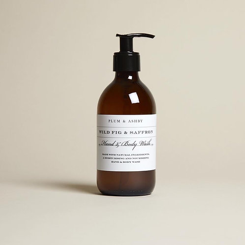 Wild Fig & Saffron Hand & Body Wash