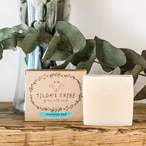 Shampoo Bar – Geranium & Pine Needle