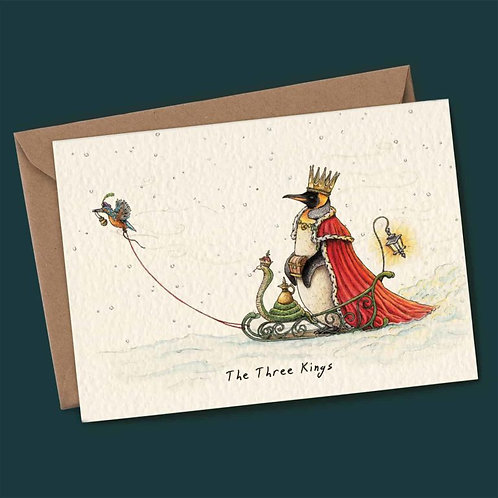 The Three Kings Christmas Card