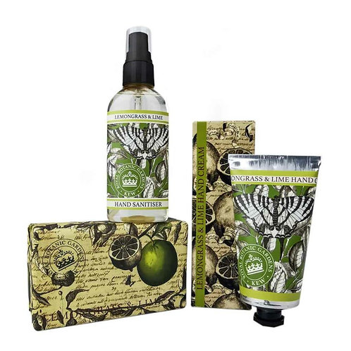 KEW GARDENS LEMONGRASS AND LIME HAND SET
