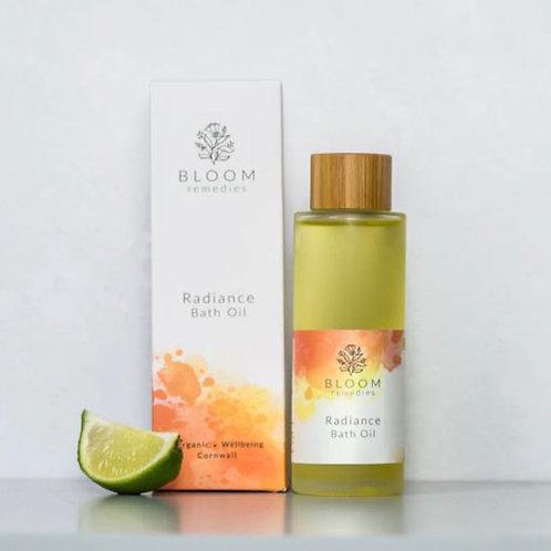 Radiance Organic Bath Oil with mandarin & bergamot