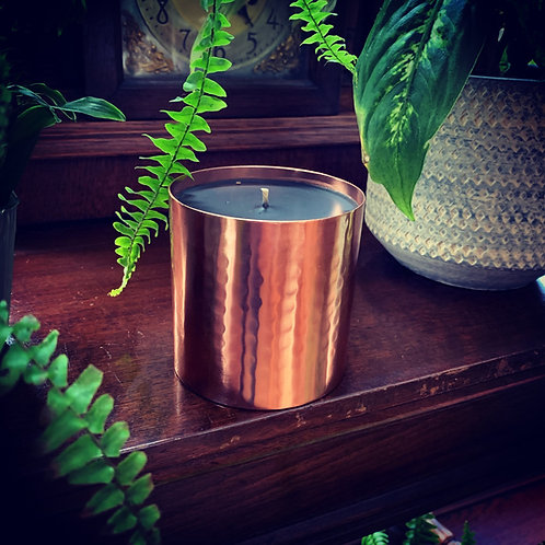 OUD, TOBACCO & VINTAGE WHISKY LUXURY CANDLE COPPER