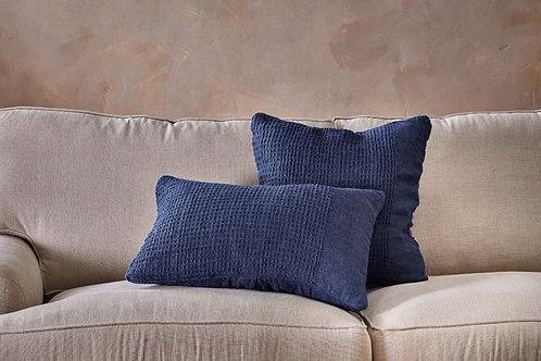 Kadin Cushion Cover  - Indigo