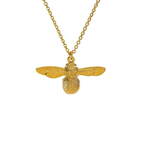 Baby Bee Necklace gold plated