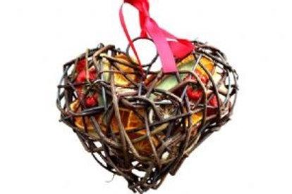 FRUIT WICKER CASE: HEART