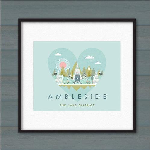 THE AMBLESIDE PRINT