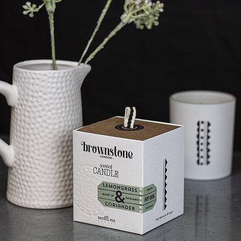 lemongrass & coriander candle