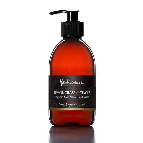 Lemongrass & Ginger Organic Hand Wash