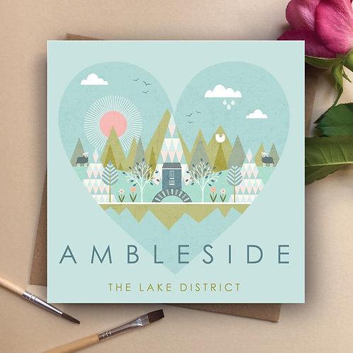 AMBLESIDE CARD