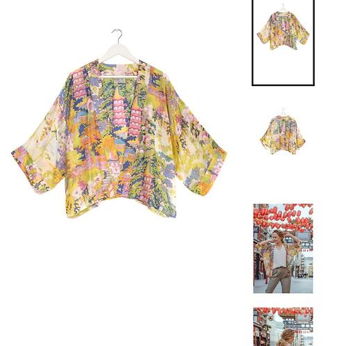 One Hundred Stars China Tree Summer Kimono