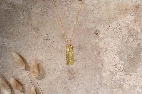 Huron Hammered Necklace