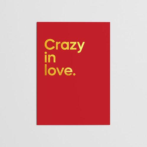 CRAZY IN LOVE CARD
