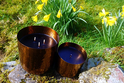 OUD, TOBACCO & VINTAGE WHISKY LUXURY CANDLE