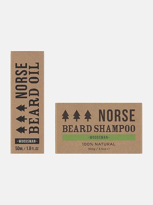 Beard Oil and Beard Shampoo Norse