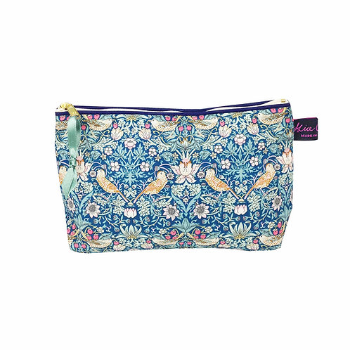 Cosmetic Bag Strawberry Thief Forest