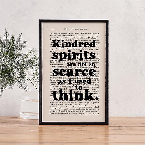Anne Of Green Gables Quotes - Kindred Spirits - Book Page -