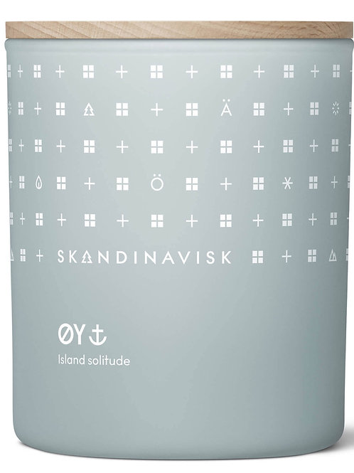 SKANDINAVISK ØY 190G SCENTED CANDLE
