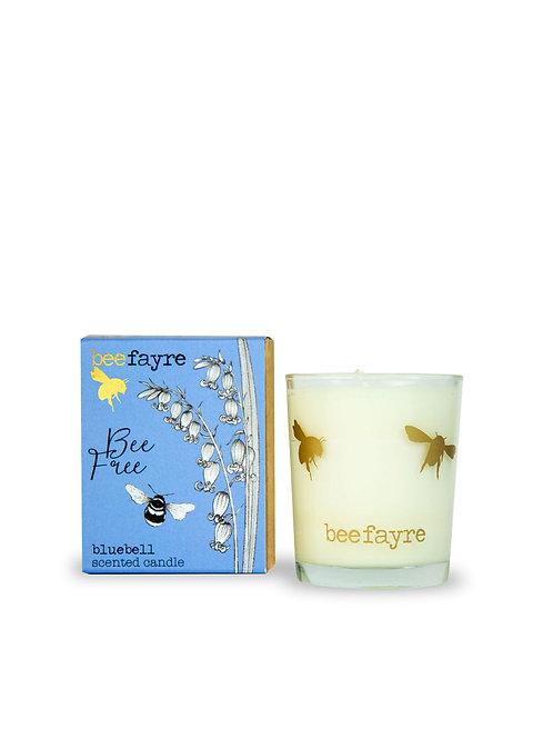 Bee Free Bluebell Votive