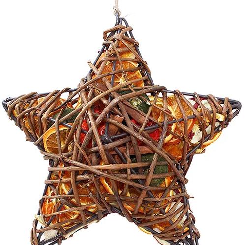 Fruit Wicker Case: Heart or Star