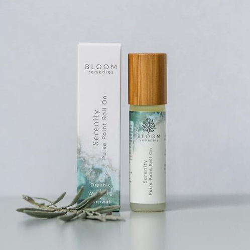 Serenity Pulse Point Roll-On with ylang ylang & geranium