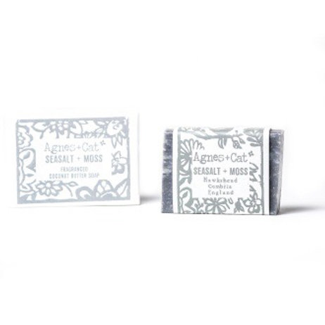 140g Coconut Butter Soap - Seasalt And Moss