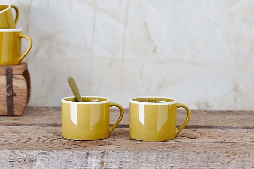 DATIA MUGS- MUSTARD PRICE PER MUG