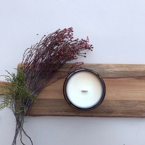 BOUS MOUNTAIN FOREST - HAND POURED CANDLE - SOY CANDLE