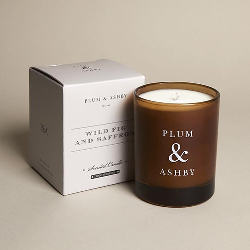 WILD FIG & SAFFRON SCENTED CANDLE