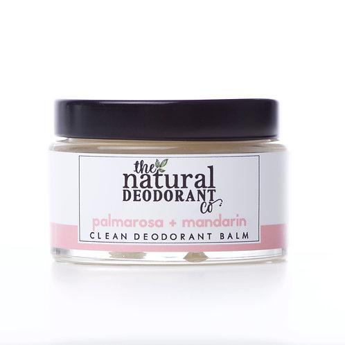 Clean Deodorant Balm Palmarosa + Mandarin 55g