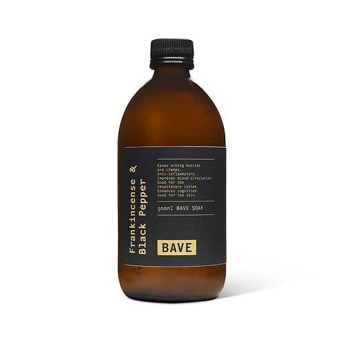 BAVE Frankincense & Black Pepper Soak