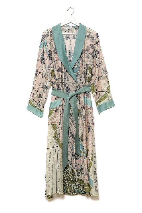 ONE HUNDRED STARS PARIS MAP GOWN