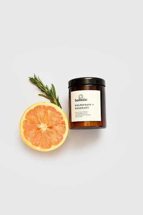 GRAPEFRUIT AND ROSEMARY SOY CANDLE