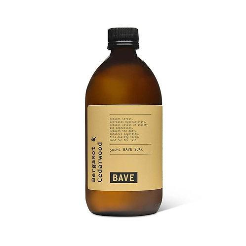 BAVE Bergamot & Cedarwood Soak