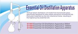 Essential Oil Distillation Apparatus