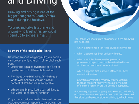Do you know the drinking and driving limit for 2019?