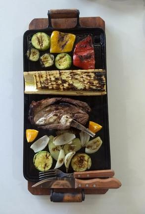 Chapeado de legumes