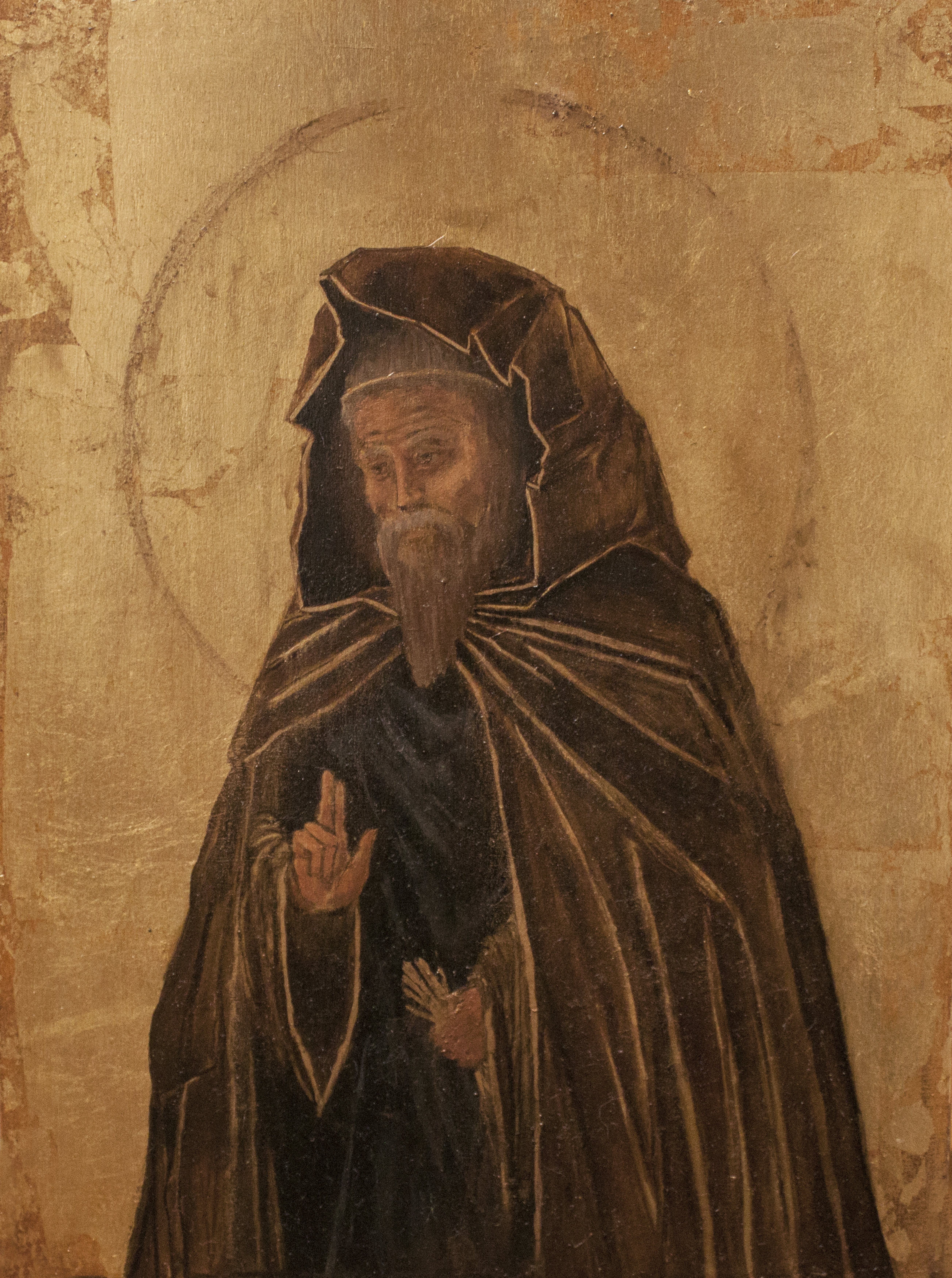 Icon of Andrei Rublev