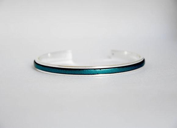 Minimaliste Bleu Azur Argenté
