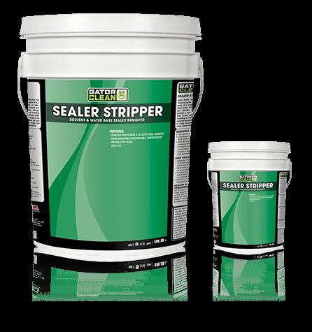 GATOR SEALER STRIPPER Solvent & Water Base Sealer Remover