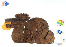 dragón azteca